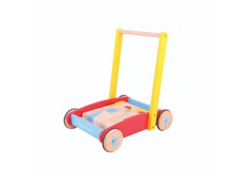 Bigjigs Baby Wooden Baby Walker