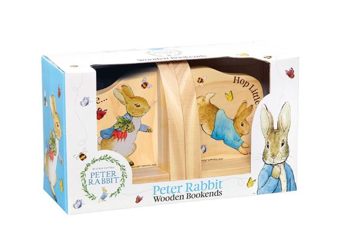Rainbow Designs Peter Rabbit Wooden Bookends