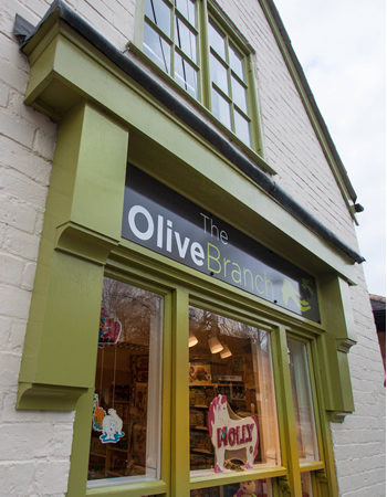 The Olive Branch Window