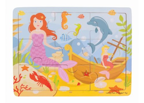 Bigjigs Toys Tray Puzzle Mermaid