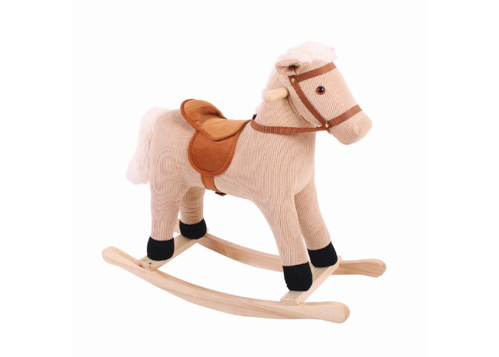 Bigjigs Toys Cord Rocking Horse