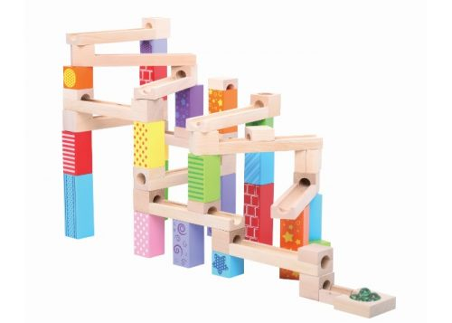 Bigjigs Toys Wooden Marble Run