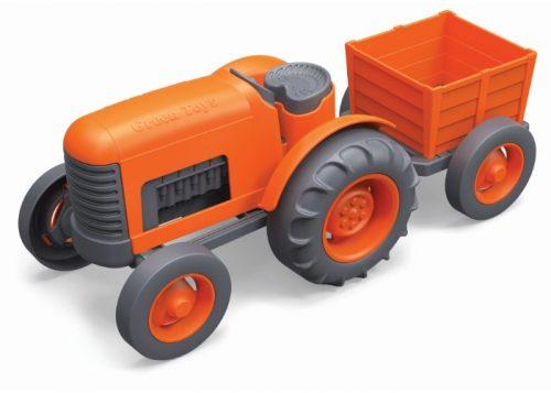 Green Toys Orange Tractor Eco-Friendly Toy