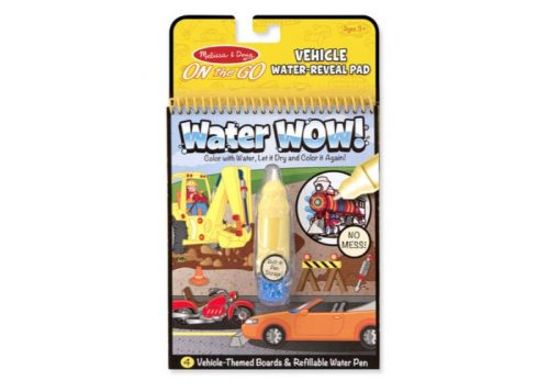 Melissa & Doug Water Wow Vehicles