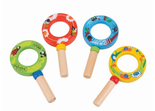 Bigjigs Toys Wooden Mini Magnifier