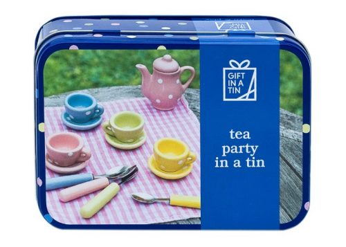 Apples to Pears Gift in a Tin Tea Party