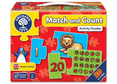 Orchard Toys Match and Count Activity Puzzle