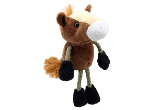 Horse Finger Puppet Animal by The Puppet Company