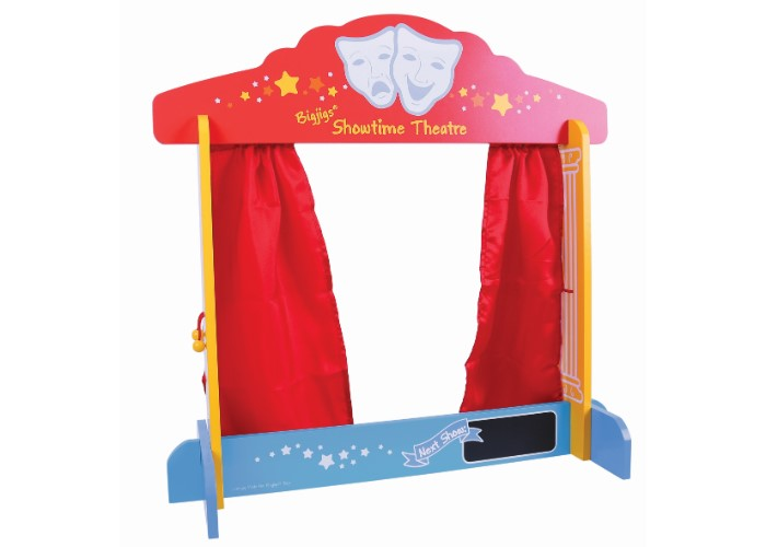 Bigjigs Toys Wooden Table Top Theatre The Olive Branch