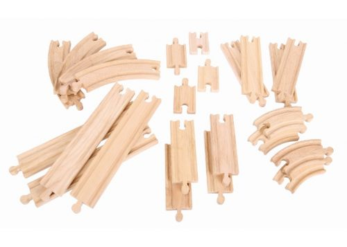 Bigjigs Rail Curves and Straights Expansion Pack
