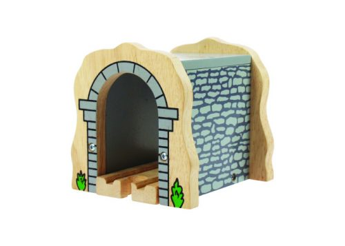 Bigjigs Rail Wooden Grey Stone Tunnel