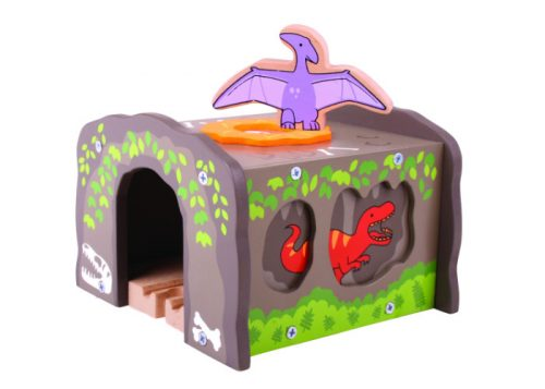 Bigjigs Rail Wooden T-Rex Tunnel