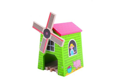 Bigjigs Rail Wooden Country Windmill