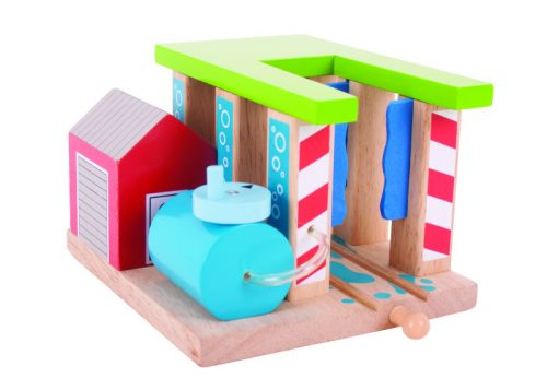 Bigjigs Rail Wooden Train Washer
