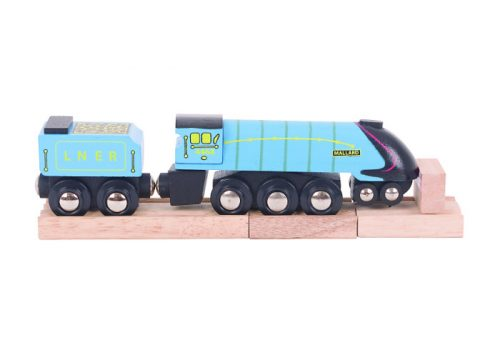 Bigjigs Rail Heritage Collection Wooden Mallard Train