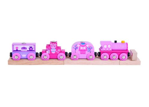Bigjigs Rail Princess Wooden Train