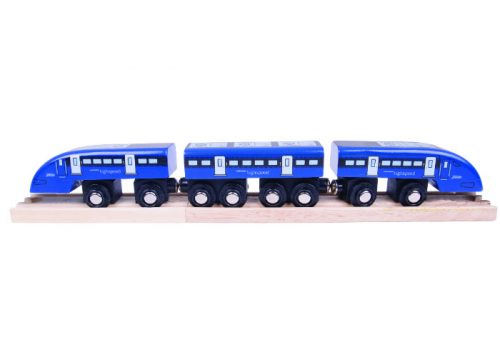 Bigjigs Rail High Speed One Wooden Train