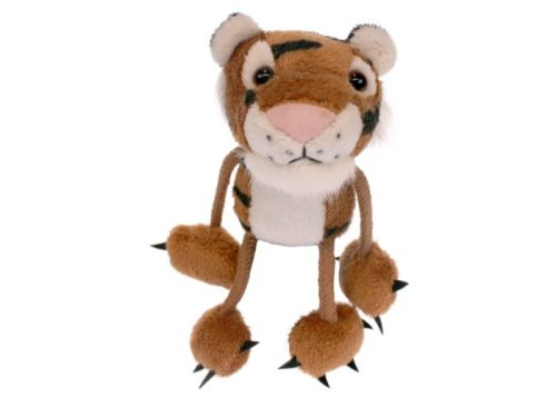 Tiger Finger Puppet Animal by The Puppet Company