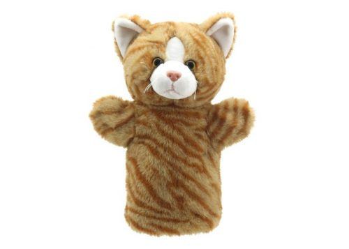 Ginger Cat Puppet Buddies Hand Puppet