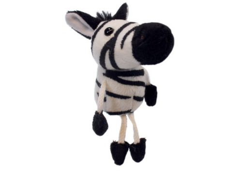 Zebra Finger Puppet Animal by The Puppet Company