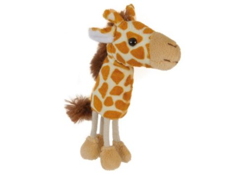 Giraffe Finger Puppet Animal by The Puppet Company