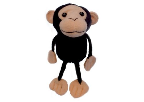 Chimp Finger Puppet Animal by The Puppet Company
