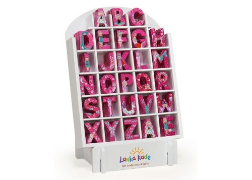 Lanka Kade Fair Trade Wooden Fairytale Letters
