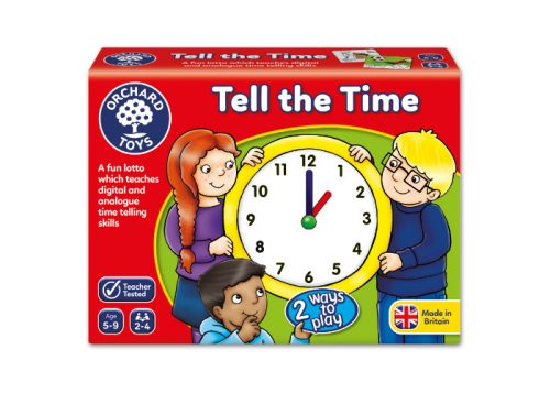 Orchard Toys Tell the Time Fun Learning Game