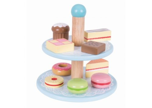Bigjigs Toys Wooden Cake Stand