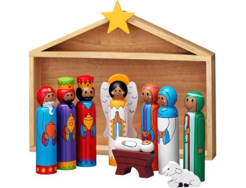 Lanka Kade Stable Nativity Set