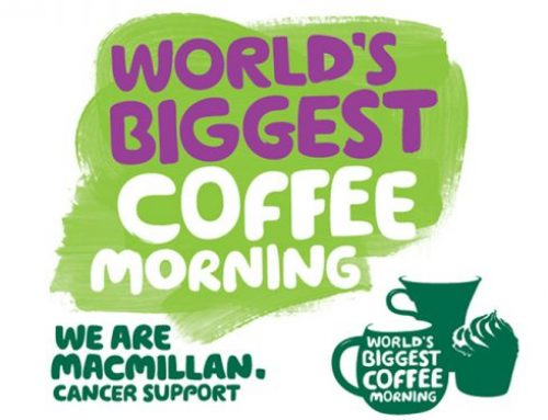 Macmillan Coffee Morning & 2nd Birthday Celebration