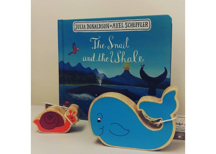 The Snail & The Whale Story Bag