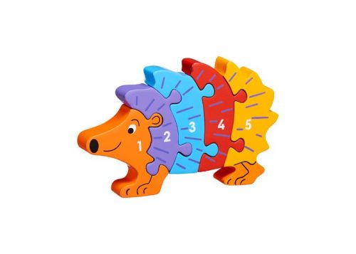 Lanka Kade Fair Trade Wooden Hedgehog 1-5 Jigsaw
