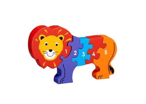 Lanka Kade Fair Trade Wooden Lion 1-5 Jigsaw