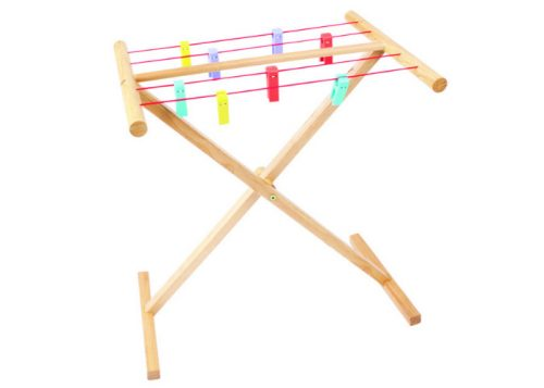 Bigjigs Toys Wooden Clothes Airer