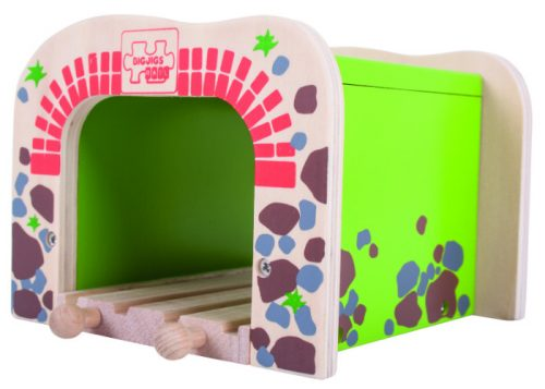 Bigjigs Rail Wooden Double Tunnel