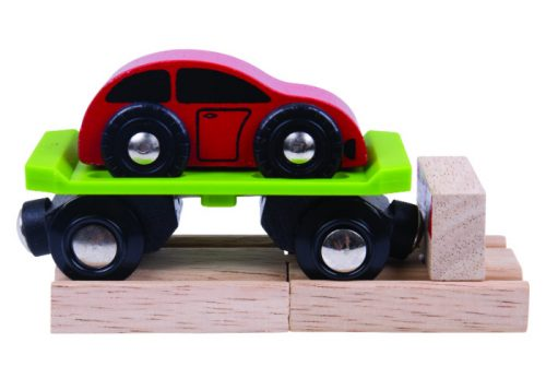 Bigjigs Rail Wooden Car Carriage