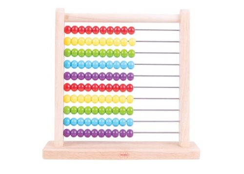 Bigjigs Toys Wooden Abacus