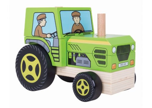 Bigjigs Baby Stacking Tractor
