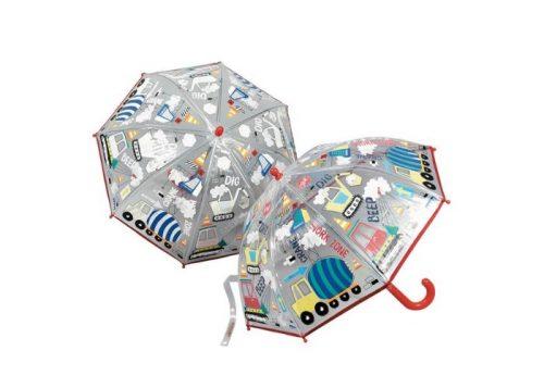 Floss & Rock Colour Changing Umbrella Construction