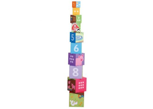 Bigjigs Toys Farmyard Stacking Cubes