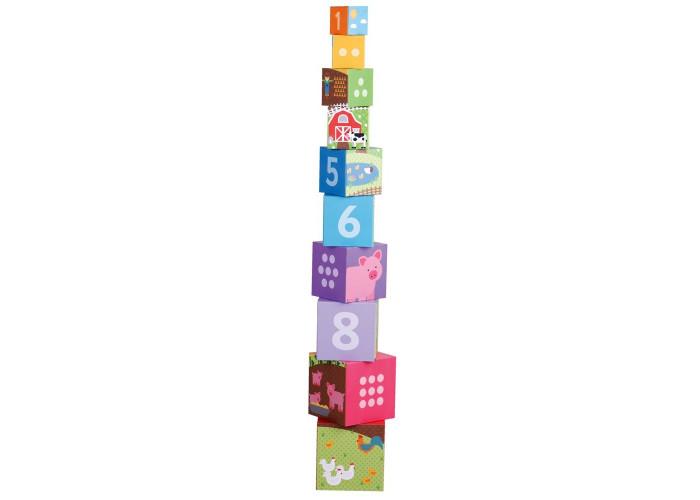 Bigjigs Toys Farmyard Stacking Cubes