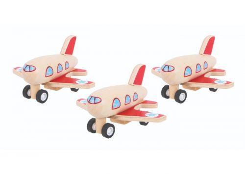 Bigjigs Toys Pull Back Plane