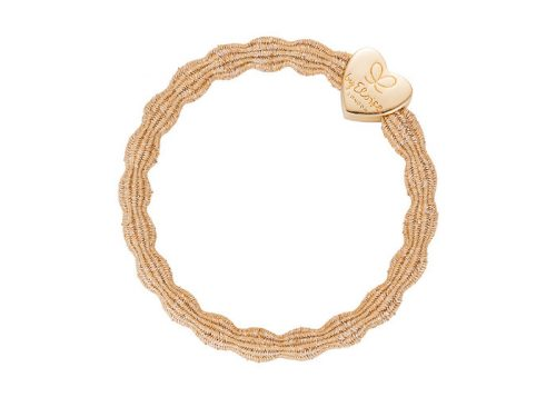byEloise Bangle Band Metallic Gold Heart Gold