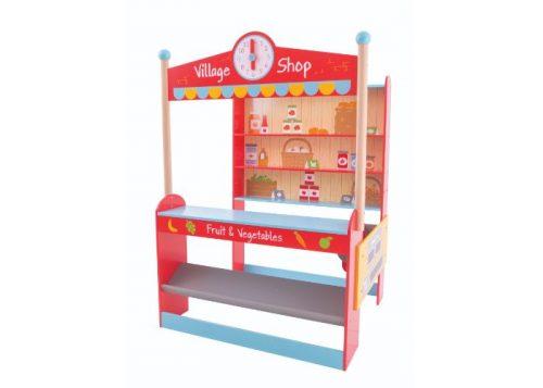 Bigjigs Toys Wooden Village Shop