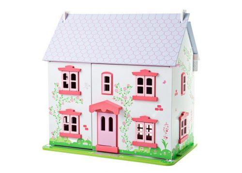 Bigjigs Toys Rose Cottage Dolls House