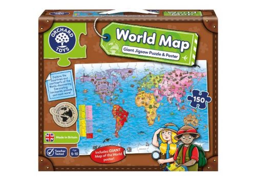 Orchard Toys World Map Jigsaw Puzzle