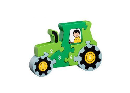 Lanka Kade Fair Trade Tractor 1- 5 Puzzle