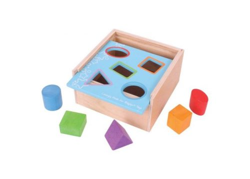 Bigjigs Baby Wooden Posting Box