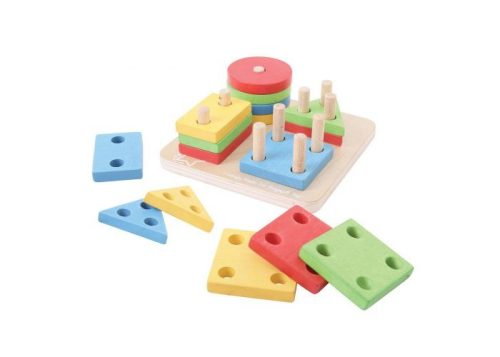 Bigjigs Baby Four Shape Sorter